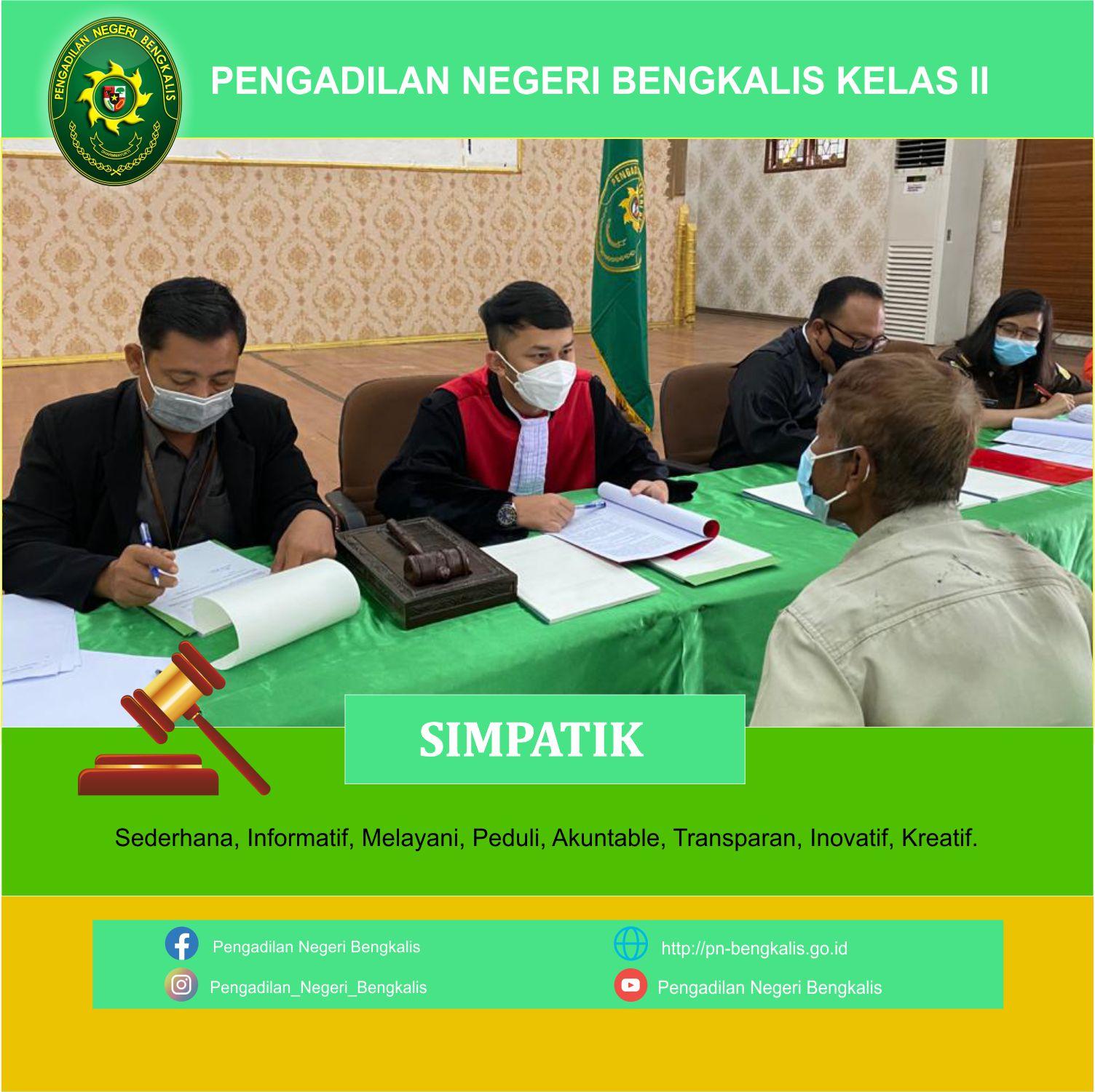 Sidang Ditempat Bagi Pelanggar Protokol Kesehatan