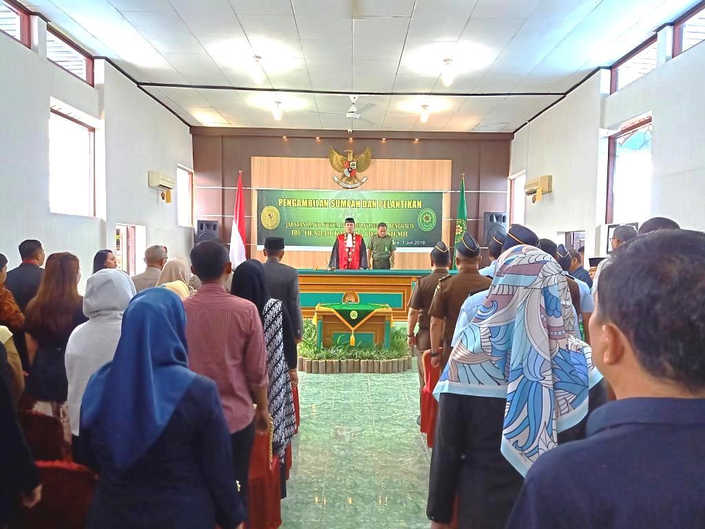 Pengambilan Sumpah dan Pelantikan Jabatan Wakil Ketua Pengadilan Negeri Bengkalis