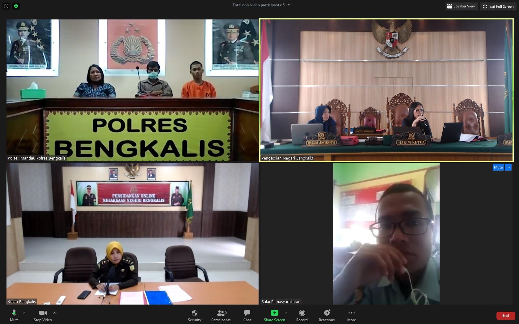 Pelaksanaan Musyawarah Diversi Tahap II Berhasil