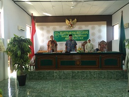 Pelantikan Pengurus Dharmayukti Karini Cabang Bengkalis Periode 2015-2018