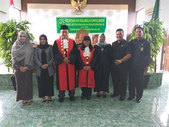 Pelantikan dan Pengambilan Sumpah Jabatan Wakil Ketua Pengadilan Bengkalis