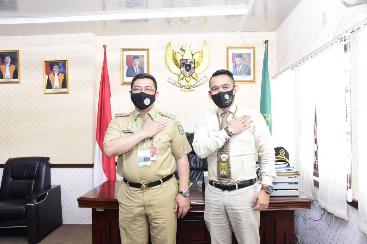 Kunjungan Pj Bupati Bengkalis ke Pengadilan Negeri Bengkalis